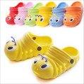 Home Slippers Baby Boy Girl Caterpillar Animal Cartoon Children Slipper Kids Sandals Casual Shoes for Girls Boys 2015 Cheap Item