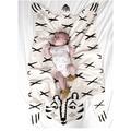 2016 Hot Sale Fashion baby Blanket Game Mat, Bear Blanket Baby Tiger Blanket Animal Carpet ,Warm Bear Play Mats Autumn Winter