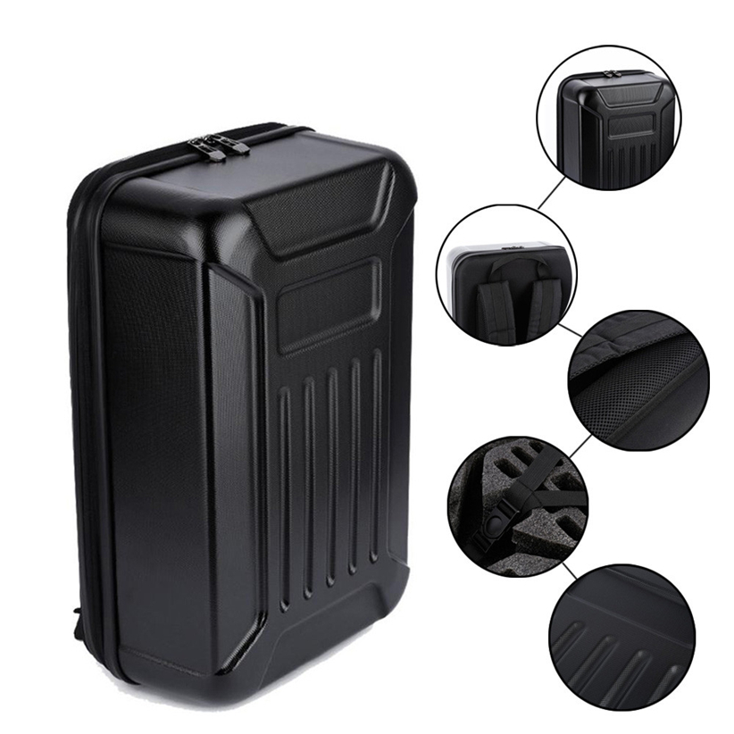 OMESHIN Black ABS Hard Shell Backpack Case Bag for Hubsan X4 H501S Quadcopter Futural Digital MAY2 new lcd display matrix for 7 oysters t72hm 3g tablet inner lcd display 1024x600 screen panel module free shipping