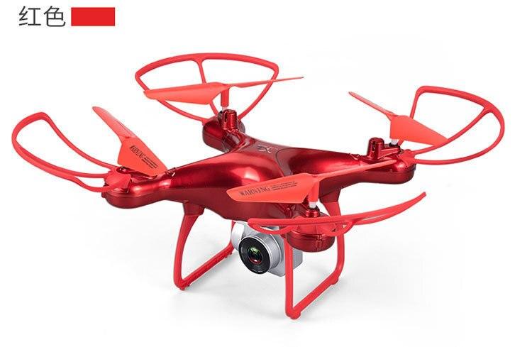 S28 Drone avec WiFi Caméra 0.3 MP en temps Réel Transmettre FPV Quadcopter Quadrocopter HD Caméra Dron 4CH RC Hélicoptère