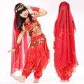 Venta caliente! espectáculo de danza del vientre del vientre traje de la danza India danza niños indio de Bollywood vestuario niños