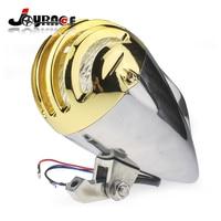 Custom Metal Moto Head Light Motorcycle Headlight Lamp for Harley Chopper Cruiser Bobber Custom