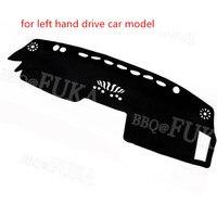 BARBEKÜ @ FUKA Araba Dashboard Dash Mat Dashmat Kapağı Araba Parçası Şekillendirici Pad Fit için Nissan Infiniti FX35 FX45 FX50 RHD Ve LHD 2003-2008