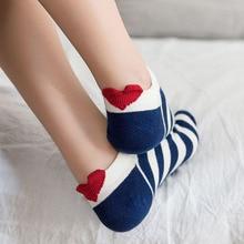 3pairs Women Socks Red Heart Cute College Wind Simple Basic Funny Female Socks Warm Cotton Spring Summer Harajuku Sox Girl Socks