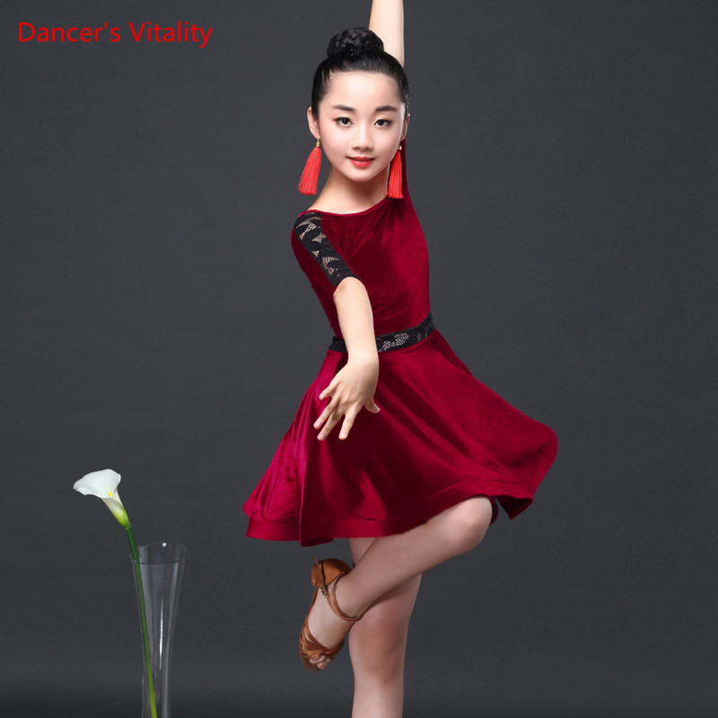 44a8198f2c9c 2019 Girls Dresses For Latin Dance Ballroom Dance Dress Rumba Samba Salsa  Cha Cha Tango Samba