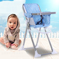 Hot Selling Widen Seat Baby Dining Chair Multifunctional Portable Folding Baby High Chair Table Seat Soft Baby Feeding Chair C01