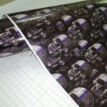 5/10/15/20/25/30m*1.52m Black Gray Skull Camo Vinyl Car Wrap Sticker Sheet Car Skull Camo Car Vinyl Decals With Bubble Free