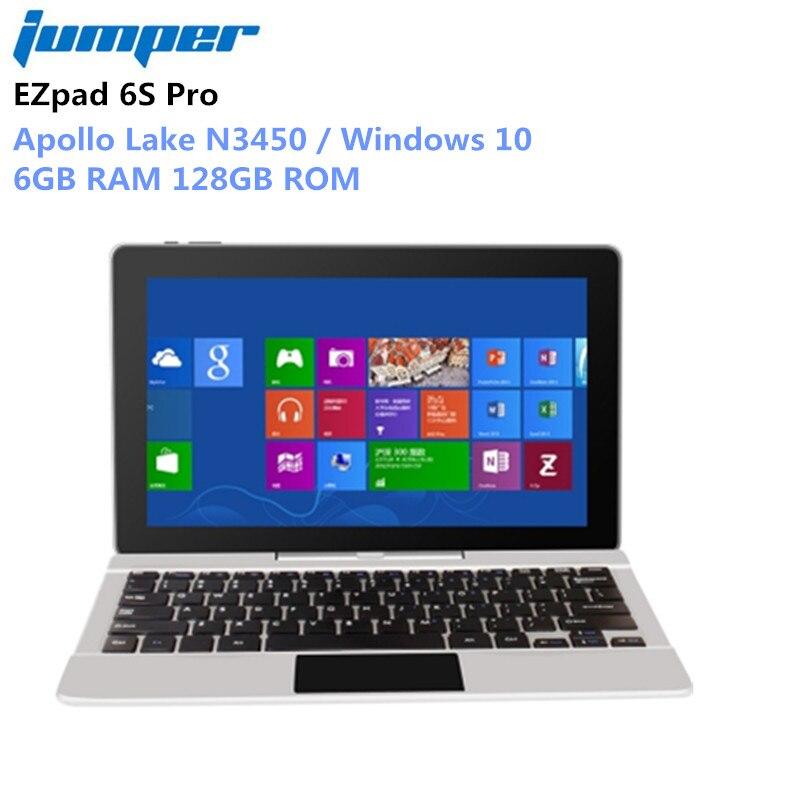 Jumper EZpad 6S Pro Laptop 11.6 inch Apollo Lake N3450 Quad Core 1.10-2.20GHz 6G