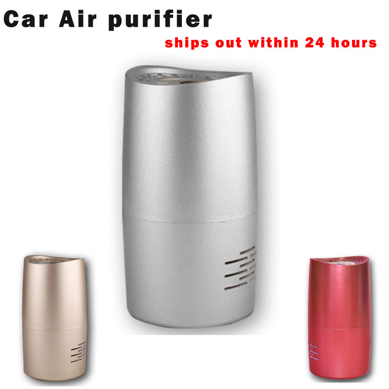 mini car ionizer air freshener purifiers DC5V 1W carbon, activated carbon filter portable oxygen concentrator