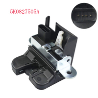 Rear Trunk Boot Lid Liftgate Lock Latch 5K0827505A For VW Volkswagen Golf GTI MK6 5 POLO TIGUAN PASSAT