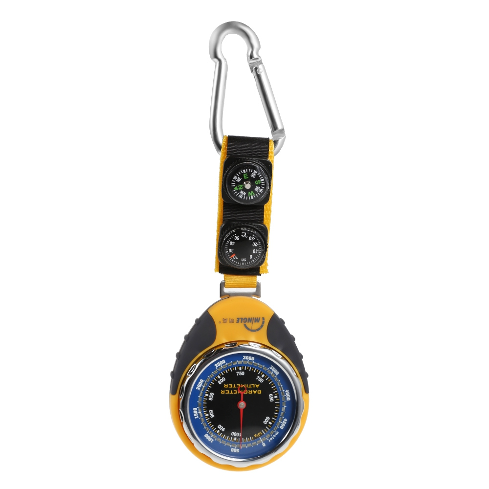 Multifunction Altimeter Barometer Compass Portable Outdoor Camping Hiking Climbing Altimeter Tools