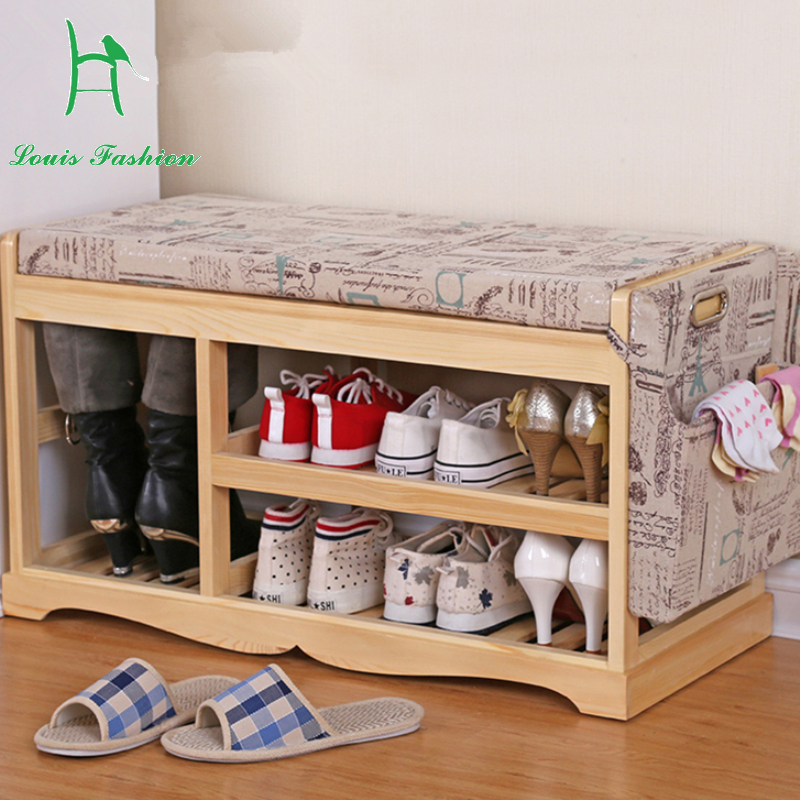 Solid wood storage stool contemporary and contracted shoe ark to receive stool sofa shoes stool in shoes stool & Shoe Storage Ottoman Promotion-Shop for Promotional Shoe Storage ... islam-shia.org
