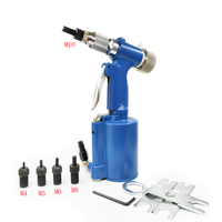 M4 M10 Semi Automatic Pneumatic Riveting Nut Gun Pneumatic Hydraulic Rivet Gun For Stainless Steel Rivets Rivet Nut Machine