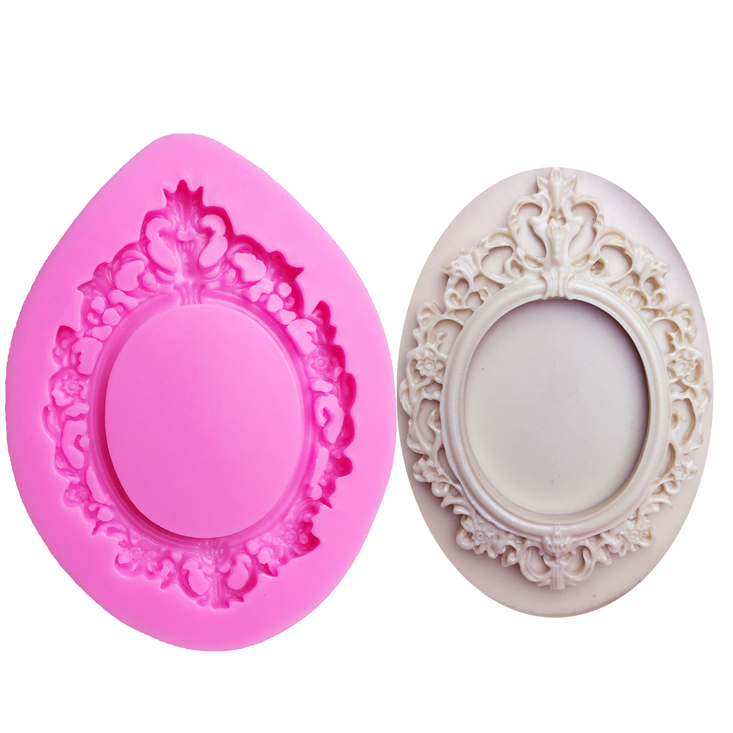 M0611 Frame silicone mold fondant mould cake decorating tools chocolate gumpaste molds