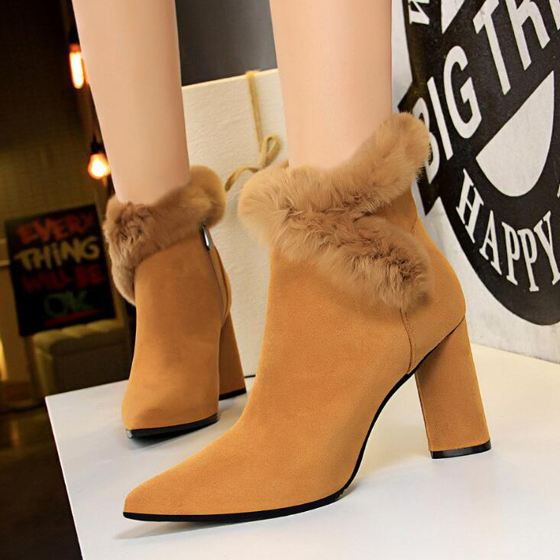 Mode Bottes Hiver Plate Taille Botas Femmes Mujer La Chaussures forme 1 K364 Plus Talons 30 Arc Automne 2 Hauts 43 Cheville Zx0SIWgwq