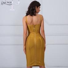 Adyce 2017 Chic Summer Bandage Dress Woman Spaghetti Strap Sexy Night Out Bodycon Dress Celebrity Party Dress Vestidos