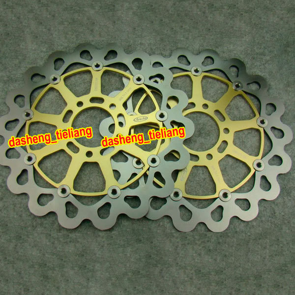 Front Brake Disc Rotors For Suzuki GSXR 600 750 1997 1998 1999 2000 2001 2002 2003 /TL1000R TL1000S GSX1400 GSXR1000