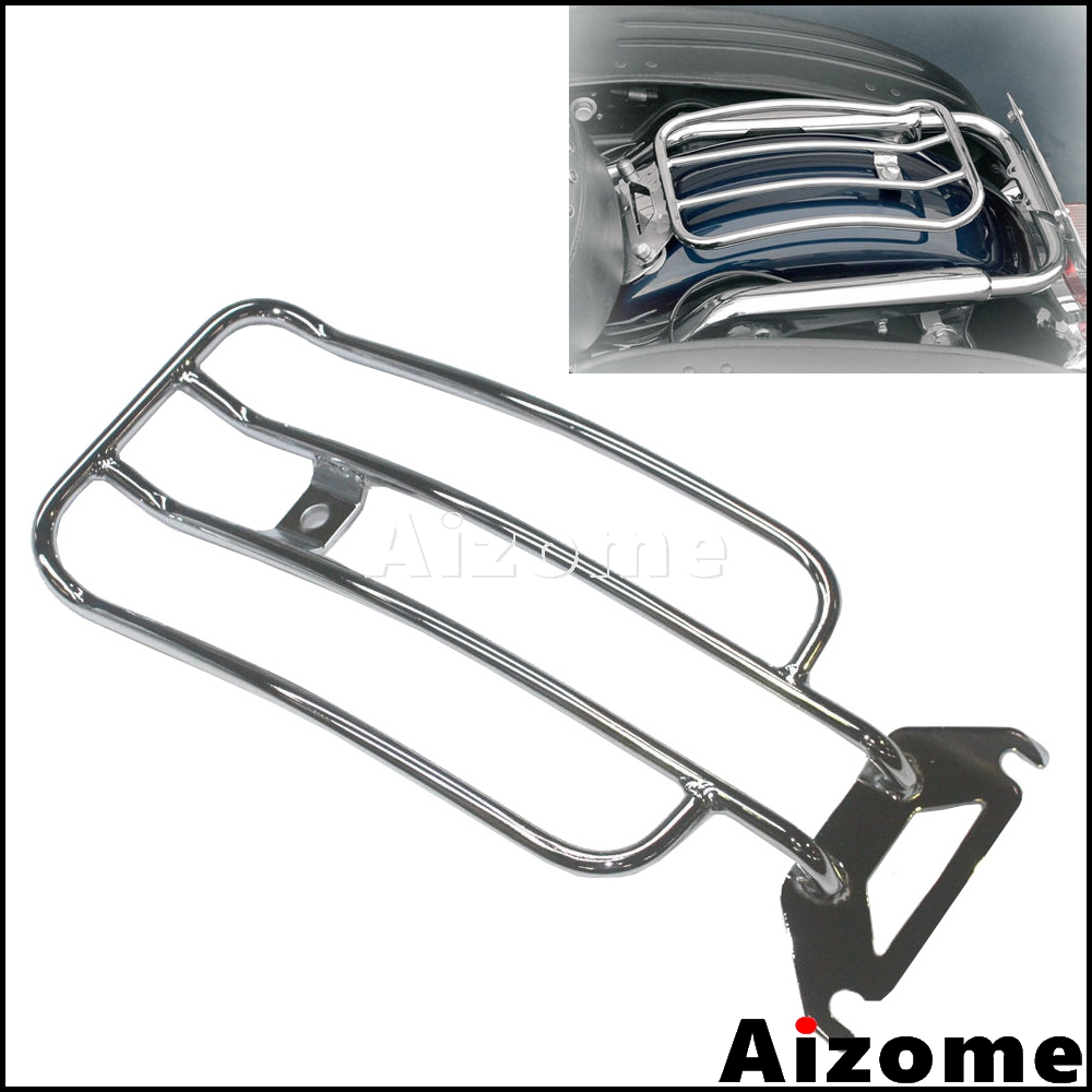 Motorcycle Luggage Rack For Harley Touring FLHT FLHTC FLHTCU Electra Glide FLTR Road Glide W/ Solo Seat 1998-2006