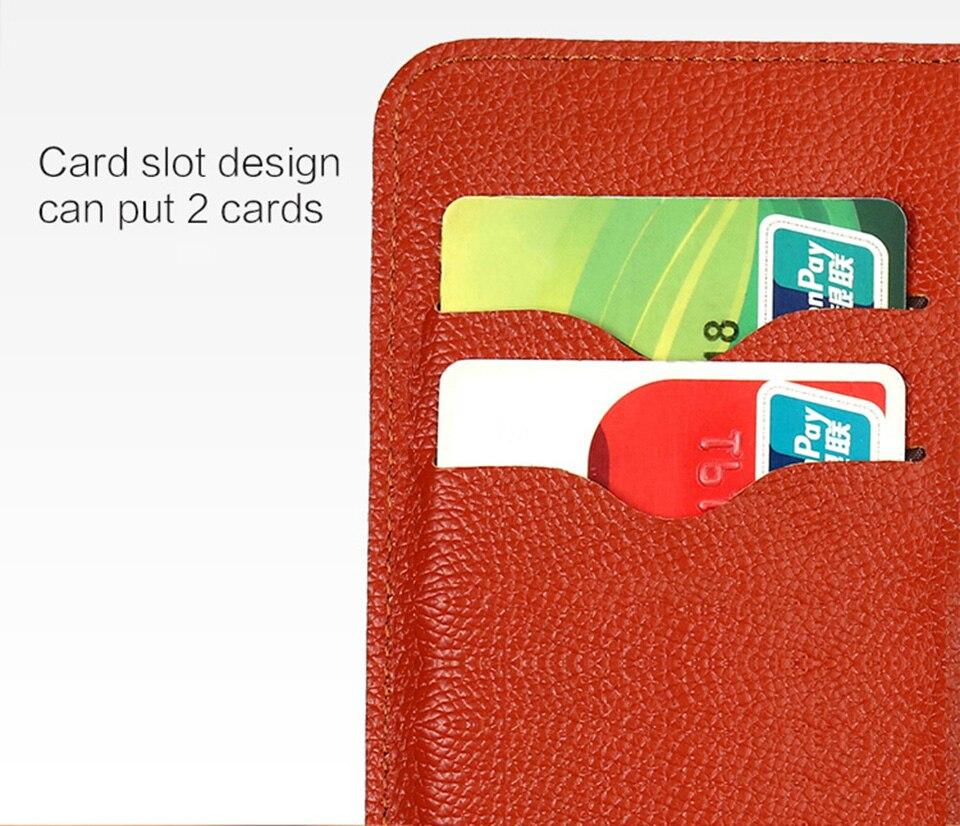 Kleine reliëf patroon card slot mobiele telefoon case voor huawei p20 lite hand gemaakte custom lederen telefoon case wangcangli - 3