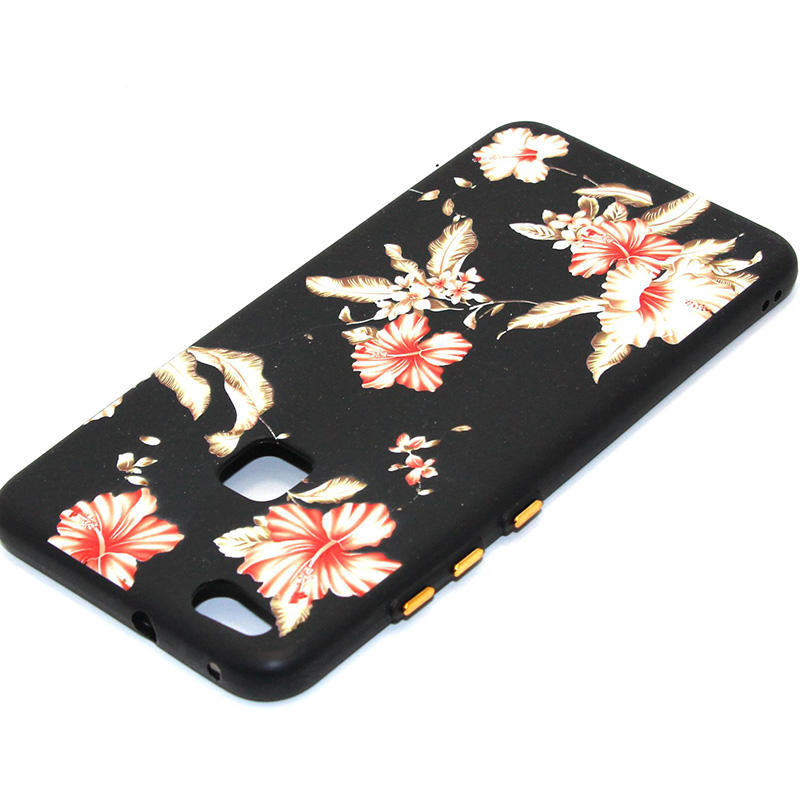 3D Relief flower silicone huawei P10 lite (32)