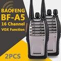 (2 ШТ.) BaoFeng BF-A5 UHF Портативной Рации КАНАЛОВ VOX + Скремблер Функция Бесплатная Доставка Двухстороннее Радио