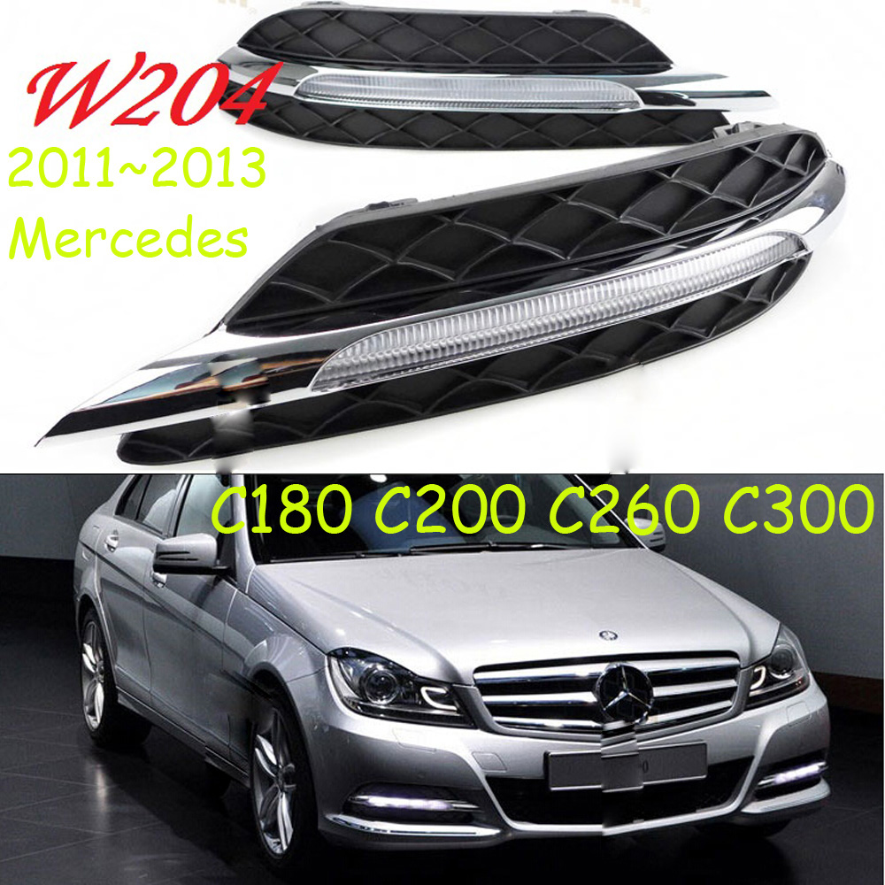 W204 daytime light;2011~2013, Free ship!LED,W212 fog light,2ps/set;W204,C180 C200 C260L 2011 2013 vw golf6 daytime light free ship led vw golf6 fog light 2ps set vw golf 6
