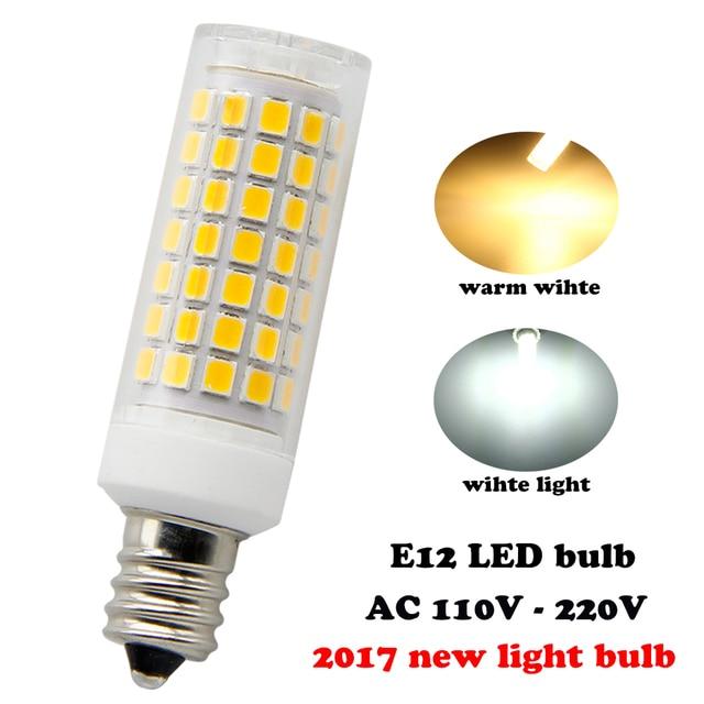 2017 nuevas bombillas 88 LEDs, E12 Bombillas LED 6 W, 75 Vatios ...