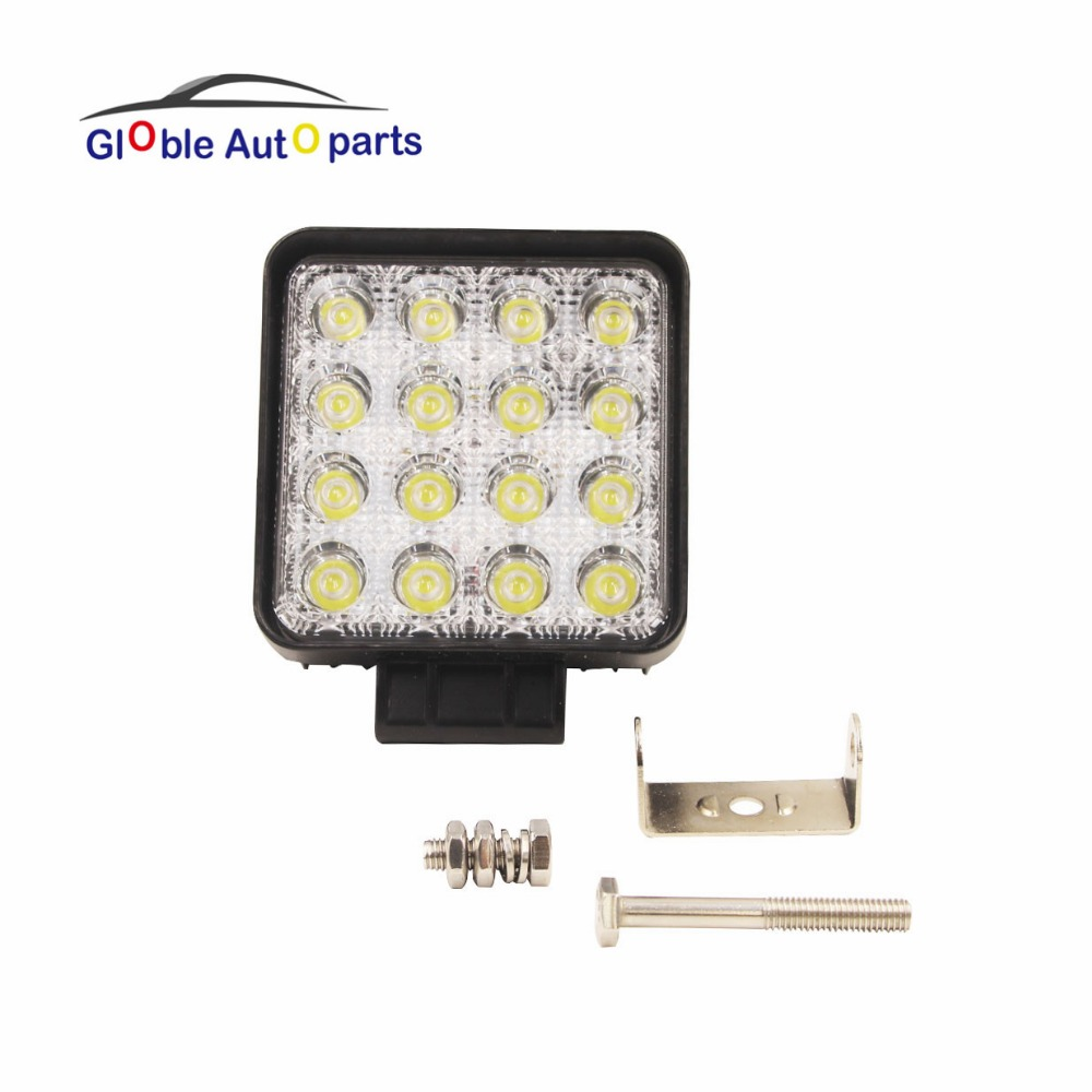 Decorative Lamp LED Work Light for Indicators Motorcycle Driving Offroad Boat Car Tractor Truck 4x4 SUV ATV Flood 12V-24V 48W