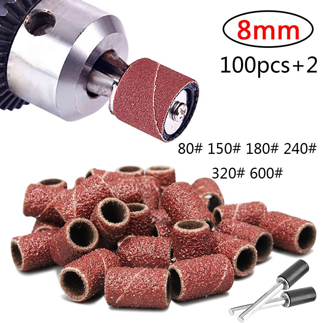Abrasive Tools 100pcs 3/8