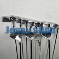 12PCS M4 Golf Complete Set M4 Golf Clubs M4 Driver + Fairway Woods + Irons+putter Graphite/Steel Shaft With Head Cover No Bag