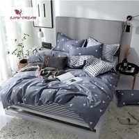 SlowDream Flat Sheets Bedding Set Nordic Double Twin Bedspread Duvet Cover Set Home Decor Bed Linen Set Bedclothes Adult Bedding