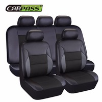 Car Pass New Leather Auto Car Seat Covers Universal Automotive Car Seat Cover For Car Lada