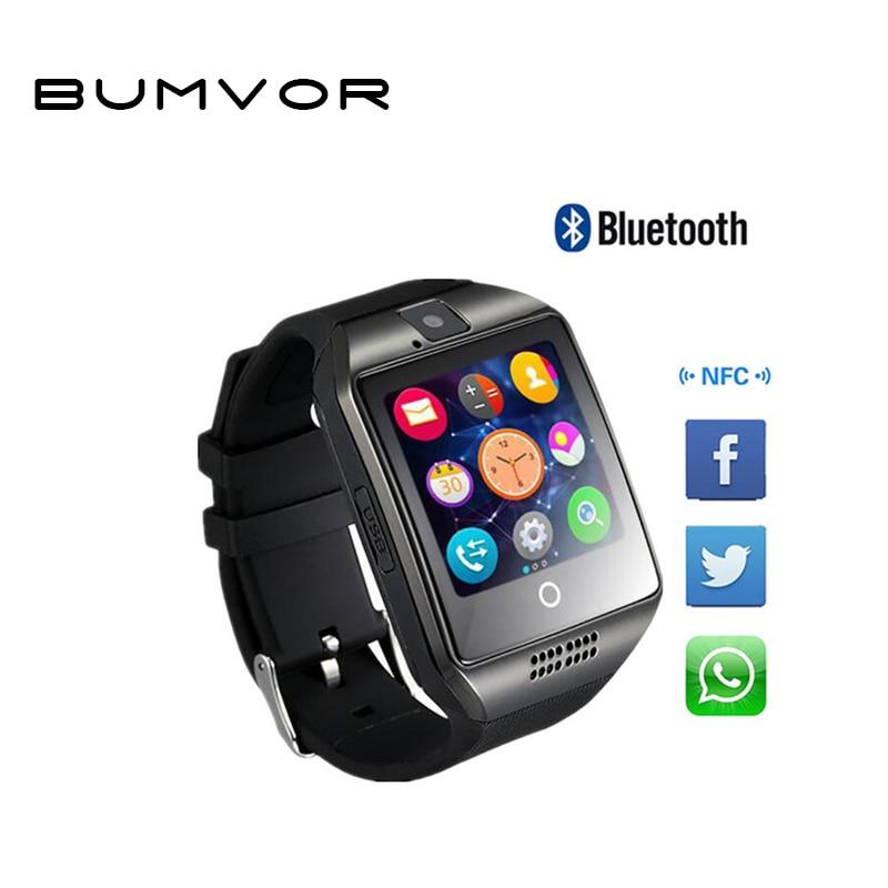 BUMVOR Bluetooth Smart Watch Q18 Intelligent Clock For Android Phone Sport watch men smart watch smart watch