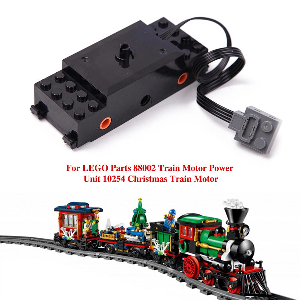 Lego Christmas Train.Us 13 58 35 Off For Lego Parts 88002 Train Motor Power Unit 10254 Christmas Train Motor In Parts Accessories From Toys Hobbies On Aliexpress