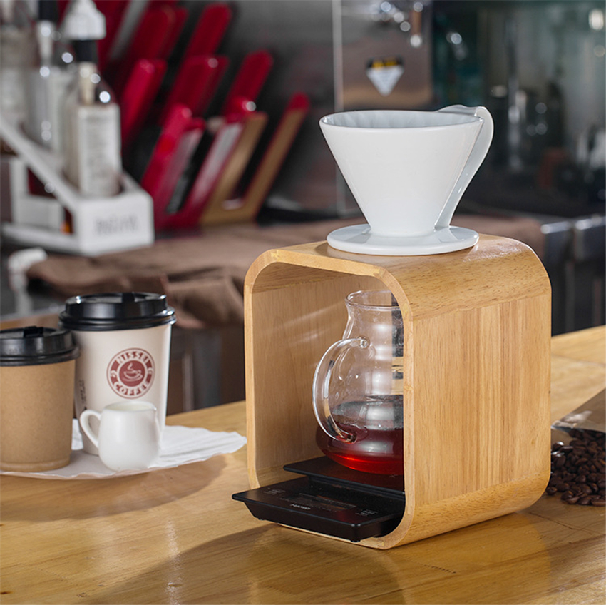 Coffee Wooden Filter Cup...