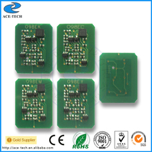 Toner reset chip for OKI C9600 C9800 C9650 C9850 color laser printer refill cartridge 42918916K/42918915 C/42918914 M/42918913 Y