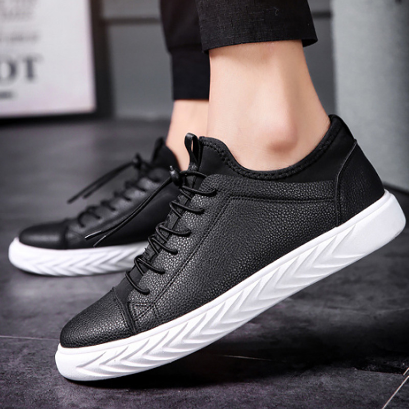 Men's shoes shallow patchwork fashion sneakers