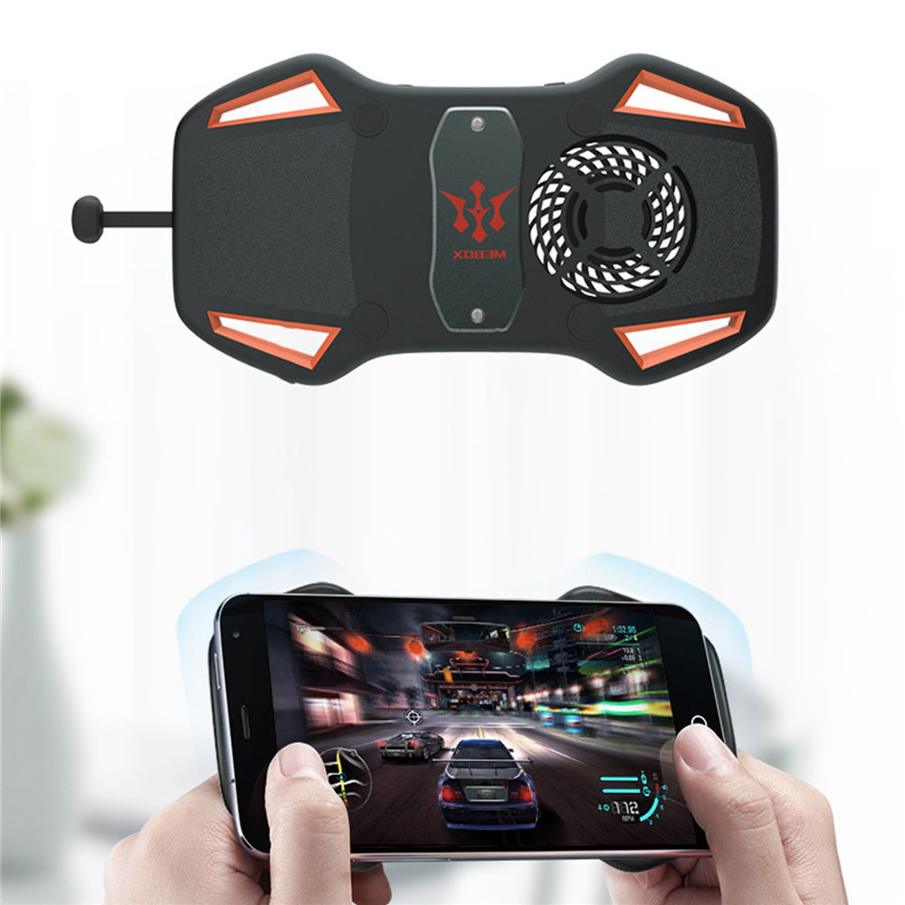 Mobile Phone Gamepad Joystick With Cooling Fan PUBG Game Controller Power Bank for Phone iphone l1r1 PUBG Mobile Game TriggerMobile Phone Gamepad Joystick With Cooling Fan PUBG Game Controller Power Bank for Phone iphone l1r1 PUBG Mobile Game Trigger
