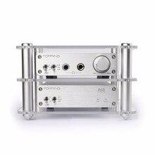 Придет A30 + D30 наушников Мощность Усилители домашние + декодер комплект Поддержка USB ЦАП/оптический Волокно/коаксиальный декодирования XMOS + декодирования TPA6120