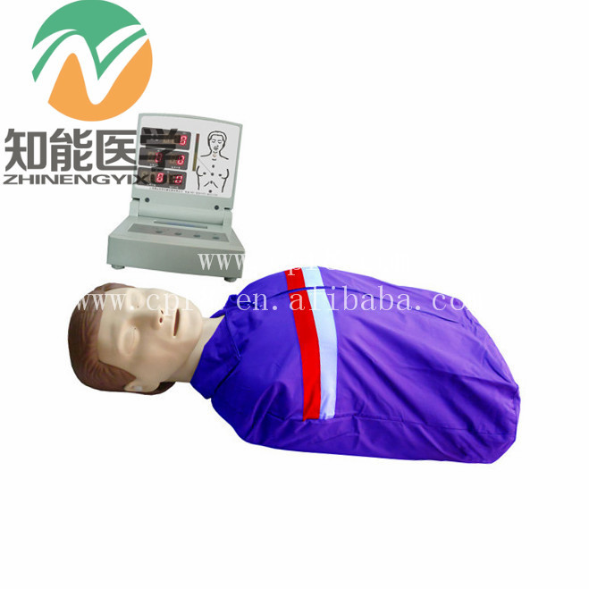 BIX/CPR230 Advanced Half Body Adult CPR Training Manikin With Electronic Display G128 bix h2400 advanced full function nursing training manikin with blood pressure measure w194
