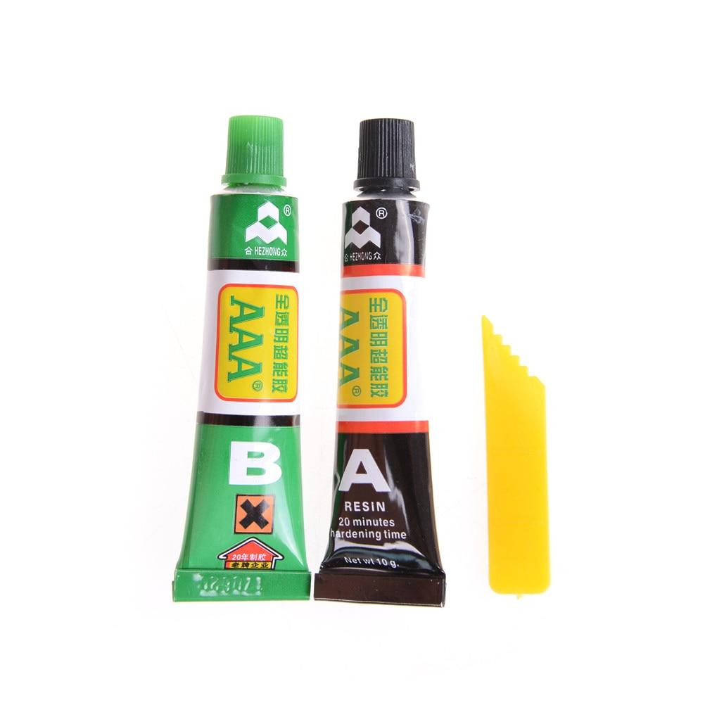 2PC Transparent Color Super Strong Epoxy Clear Glue 10g AB