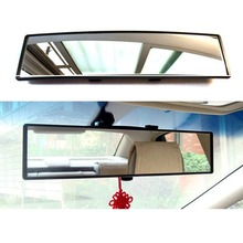 Car Interior 300mm Deluxe Anti-glare Rear View Mirror Clip-on Wide Angle panoramic mirror Rearview Mirrors Car Styling
