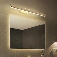 Скандинавский водонепроницаемый и противотуманный настенный светильник светодиодный группа ламп зеркальные фары настенные бра крепление