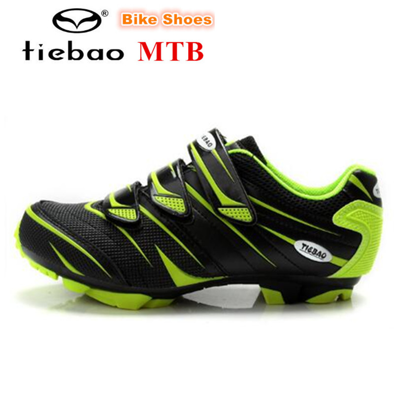 TIEBAO Cycling Shoes sapatilha ciclismo mtb zapatillas deportivas mujer Men Bicycle mountain Bike Shoes Athletic outdoor shoes-in Cycling Shoes from Sports & Entertainment    3