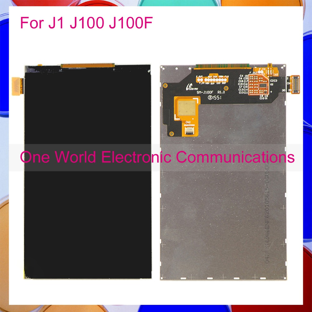 One World High Quality Tested 4.3 For Samsung Galaxy J1 J100 J100F Smartphone LCD Display Screen Tracking Code Free Shipping