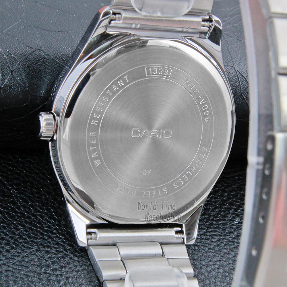 Zegarek Casio Prosty zegarek mężczyźni top marka luksusowy zegarek kwarcowy Wodoodporny zegarek retro mężczyźni Sport wojskowy Zegarek relogio masculino reloj hombre erkek kol saati montre homme zegarek meski MTP V006-in Quartz Horloges van Horloges op  Groep 3