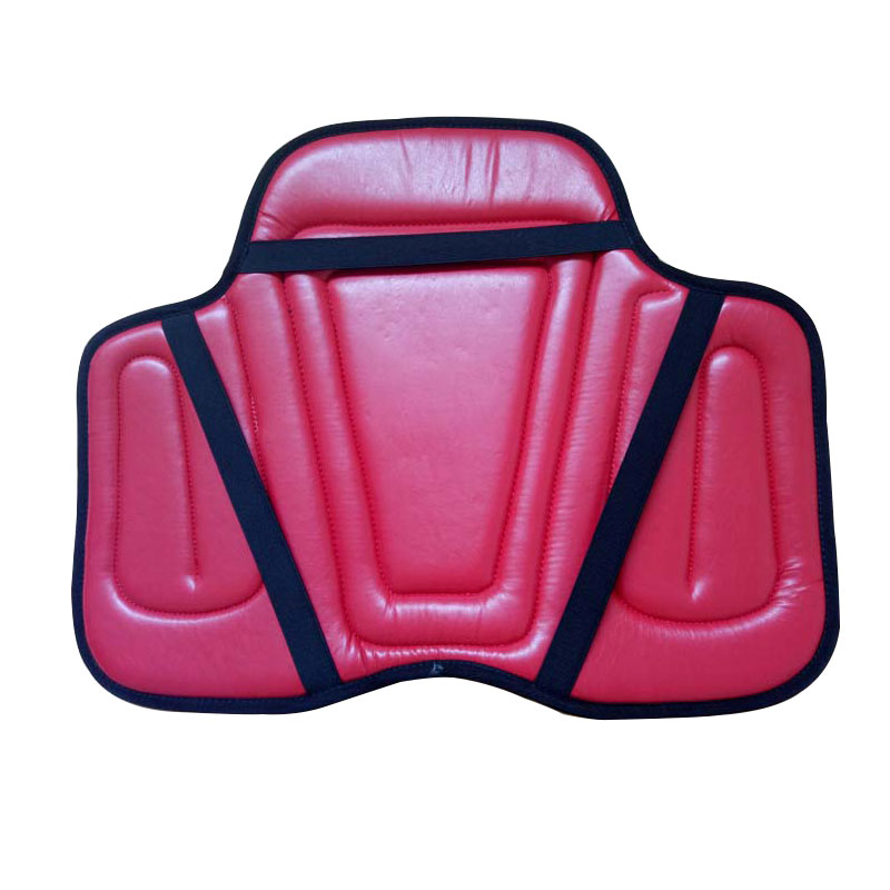 Image 3 - Equestrian PU Saddle Pads Black Horse Riding Saddle Pad Soft Seat Pad Horse Riding Racing Equipment Paardensport Cheval F-in Saddle Pads from Sports & Entertainment
