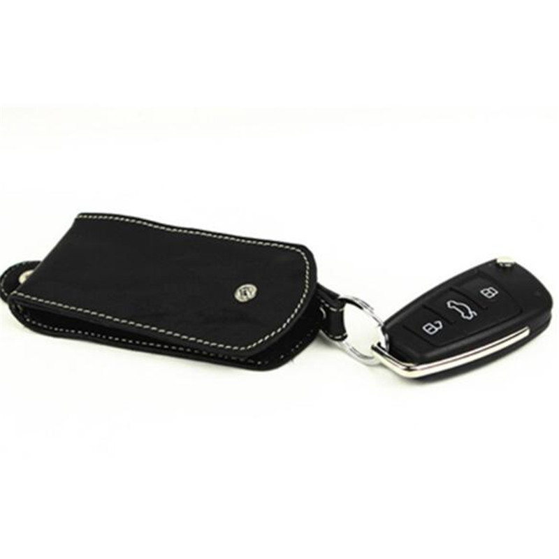 Multifunction PU Leather Smart Car Key Wallet Organizer Housekeeper Bag Portable Covers Hasp Key Case 2Colors