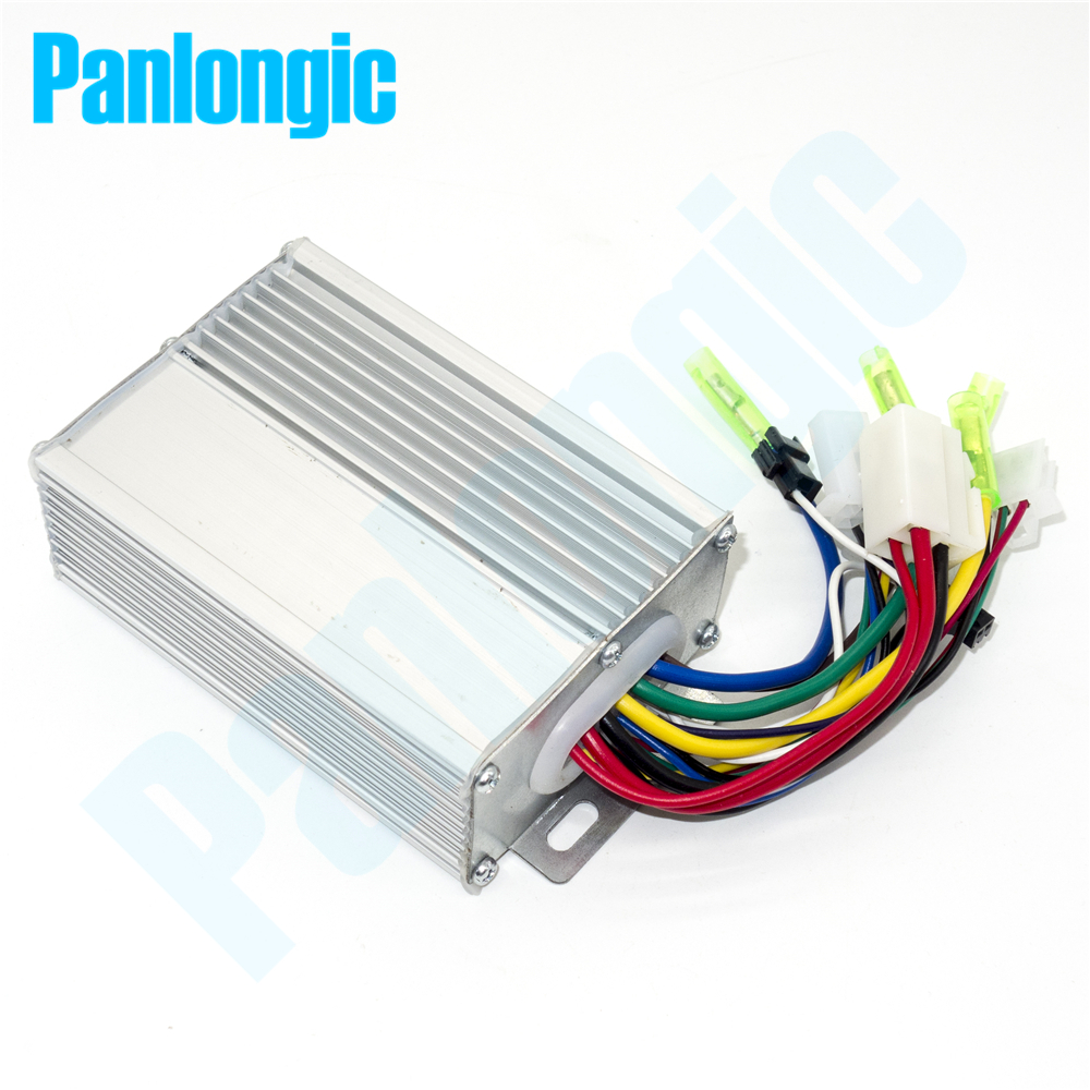 50PCS 36V/48V 350W Electric Bicycle E-bike Scooter Brushless DC Motor Controller EMS DHL UPS Free Shipping dhl ems moeller easy 412 dc r programable controller easy412 dc r c3 d9
