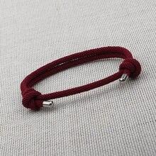 NIUYITID красный браслет-нить для женщин Регулируемая Веревка мужские ювелирные изделия ручной работы для девочек подарок bransoletka sznurek
